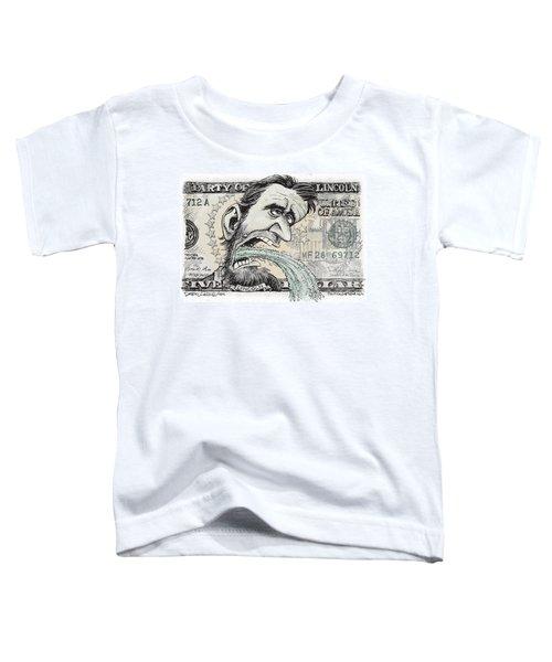Lincoln Barfs Toddler T-Shirt