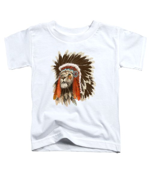 Lion Chief Toddler T-Shirt