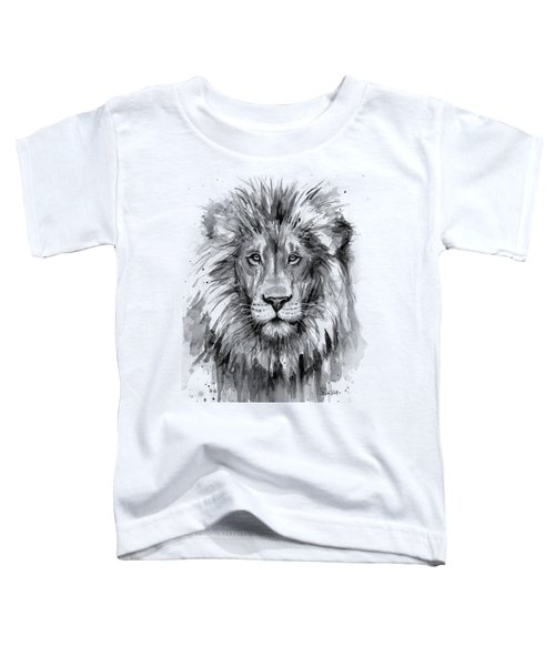 Lion Watercolor  Toddler T-Shirt