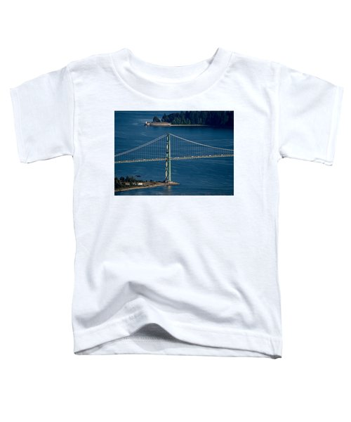 Lions Gate Bridge And Brockton Point Toddler T-Shirt