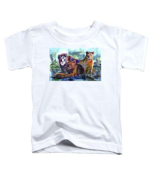 Lion's Play Toddler T-Shirt