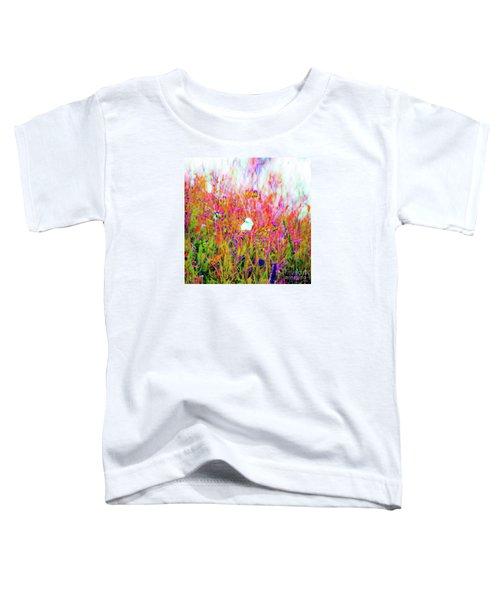 Little Butterfly Fly Toddler T-Shirt