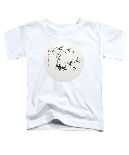 Little Dance - Round Toddler T-Shirt