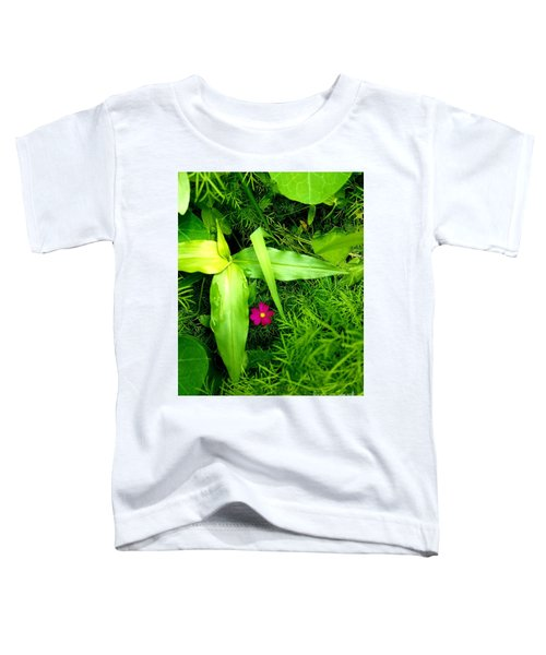 Little Flower Toddler T-Shirt