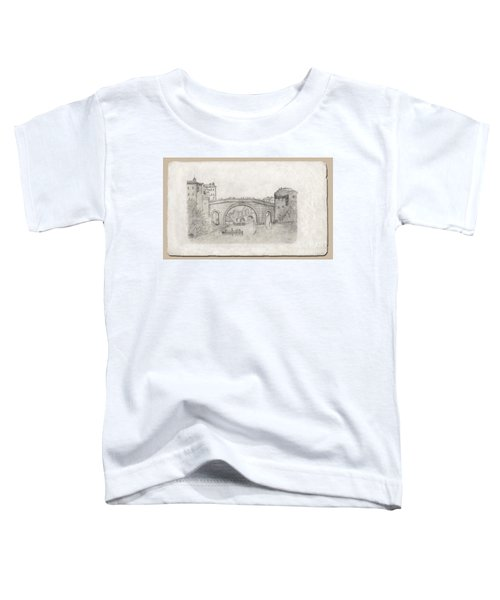 Liverpool Bridge Toddler T-Shirt
