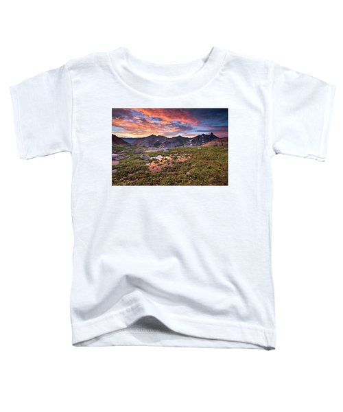 Toddler T-Shirt featuring the photograph Lizard Head Wilderness by Whit Richardson
