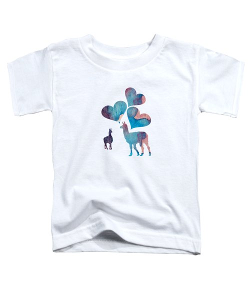 Llama Art Toddler T-Shirt