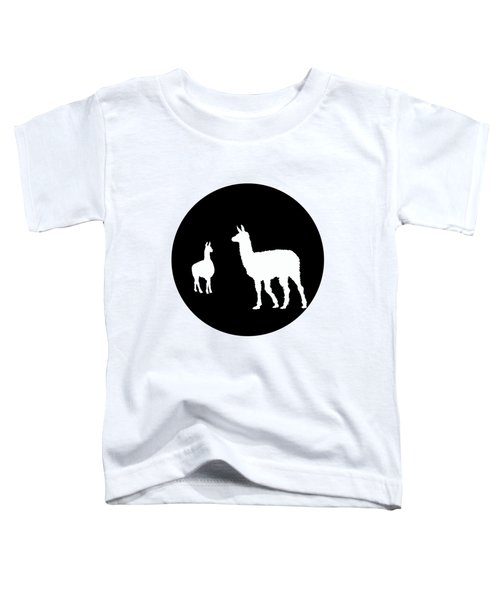 Llamas Toddler T-Shirt