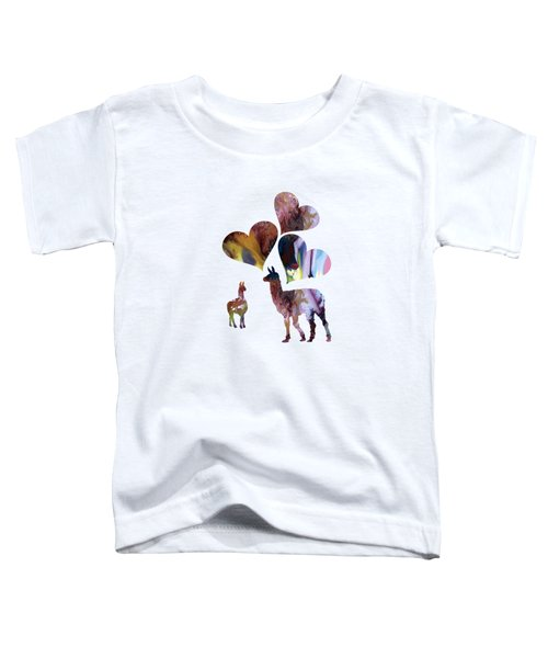 Llamas Toddler T-Shirt