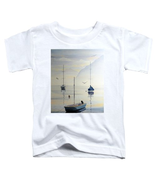 Locarno Boats In February Toddler T-Shirt