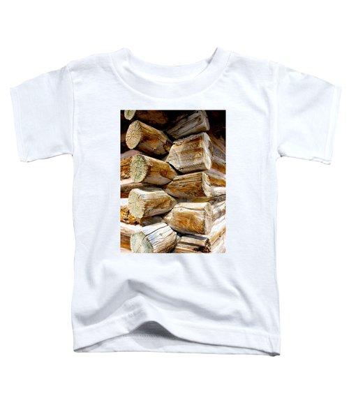Log Cabin Corner Toddler T-Shirt
