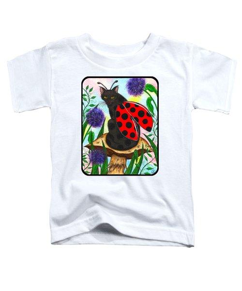Logan Ladybug Fairy Cat Toddler T-Shirt