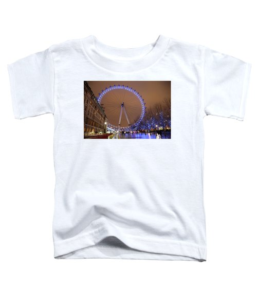 Big Wheel Toddler T-Shirt by David Chandler