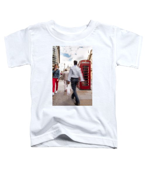 London In Motion Toddler T-Shirt
