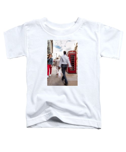 London In Motion Toddler T-Shirt