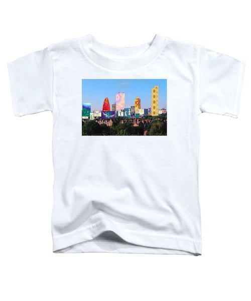 London Skyline Collage 1 Toddler T-Shirt