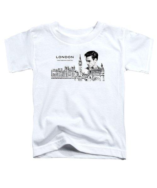 London The Fashion Capital Toddler T-Shirt