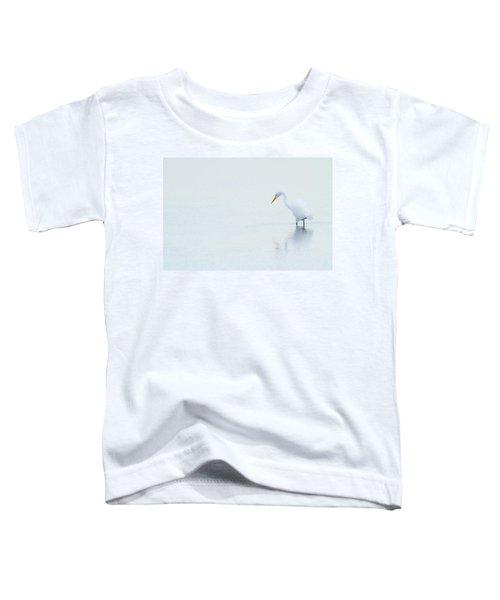 Lonely Egret Toddler T-Shirt