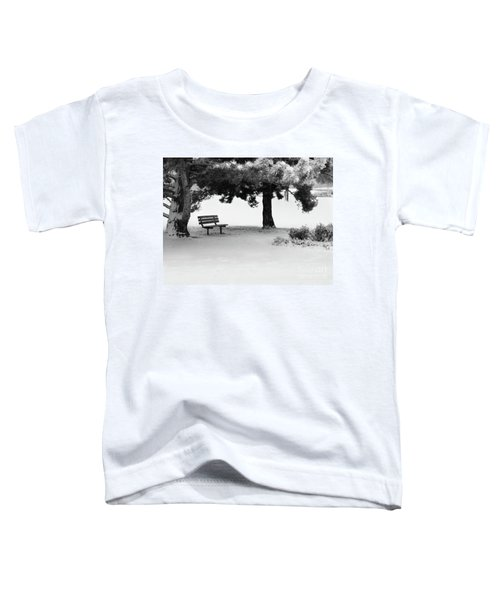 Lonely Park Bench Toddler T-Shirt