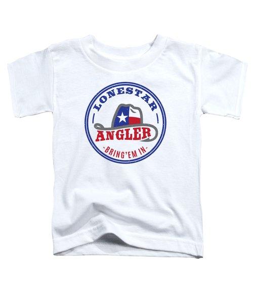 Lonestar Angler Toddler T-Shirt