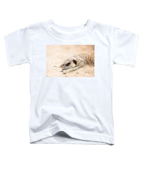 Long Day In Meerkat Village Toddler T-Shirt
