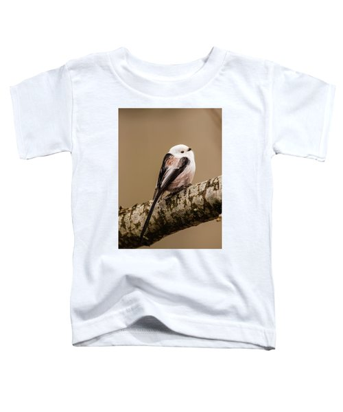 Long-tailed Tit On The Oak Branch Toddler T-Shirt