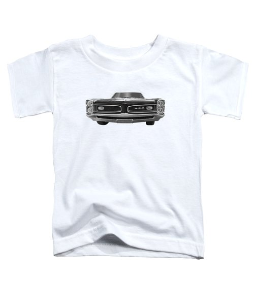 Look At Me - Gto Black And White Toddler T-Shirt