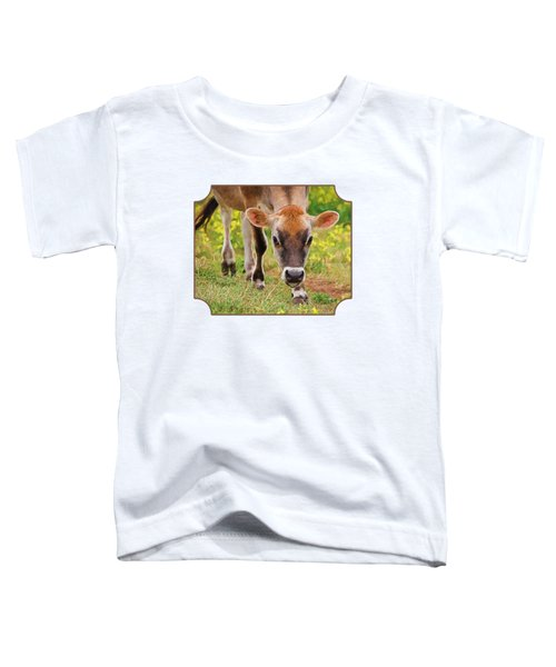 Look Into My Eyes - Painterly Toddler T-Shirt by Gill Billington