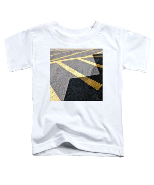 Toddler T-Shirt featuring the photograph Lot Lines by Eric Lake