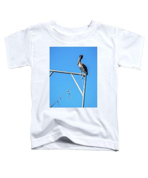 Louisiana's State Bird Toddler T-Shirt