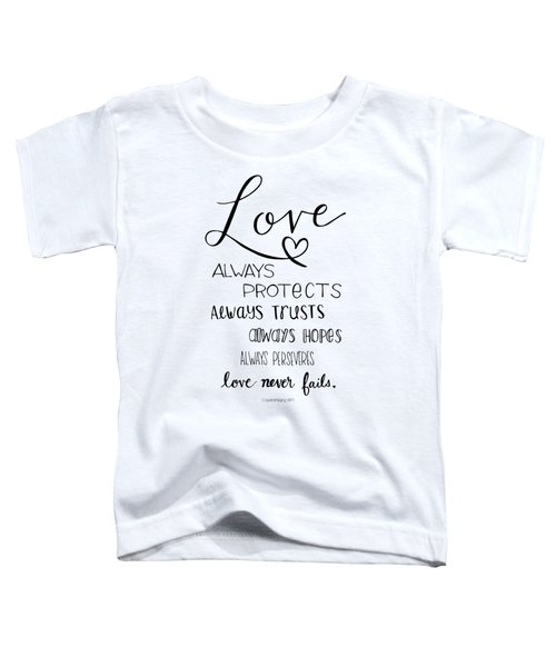 Love Always Toddler T-Shirt