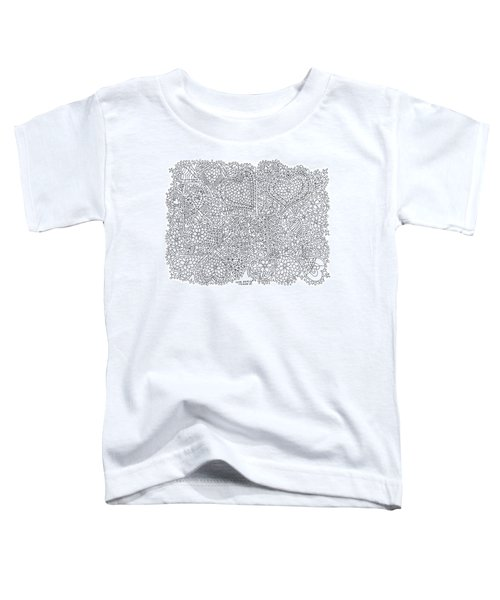 Love Berlin Toddler T-Shirt by Tamara Kulish