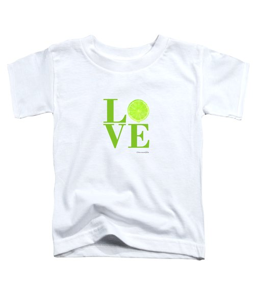 Love Lime Toddler T-Shirt