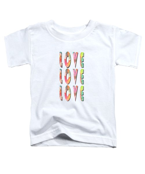 Love Love Love Phone Case Toddler T-Shirt
