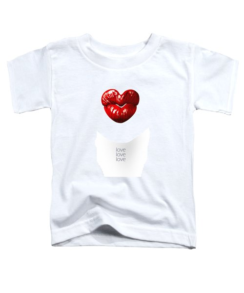Love Poster Toddler T-Shirt