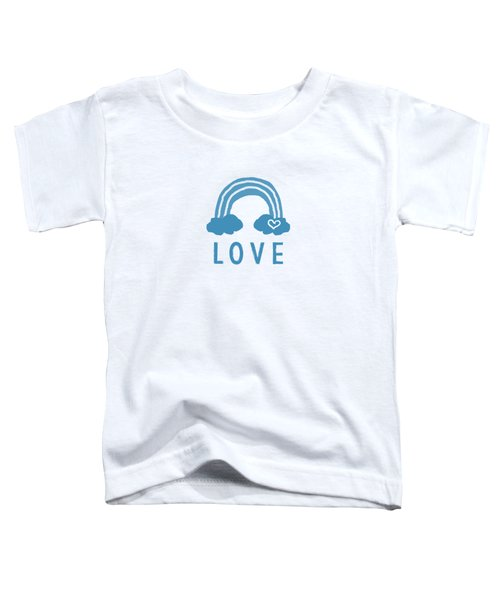 Love Rainbow- Art By Linda Woods Toddler T-Shirt