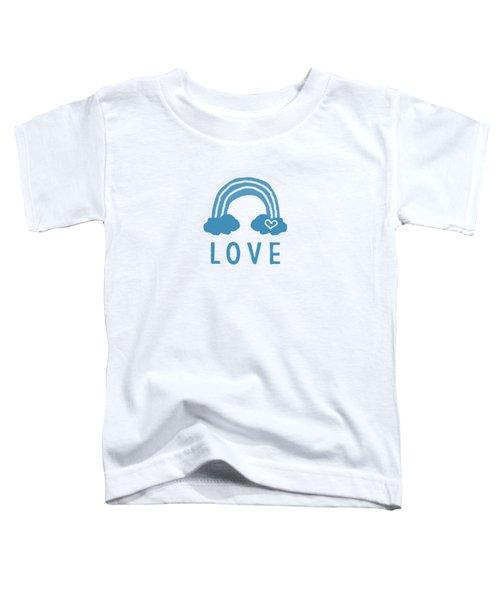 Love Rainbow- Art By Linda Woods Toddler T-Shirt