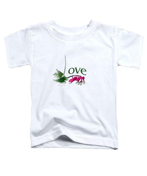 Love Shirt Toddler T-Shirt