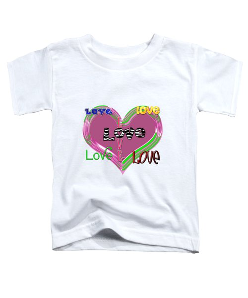 Love T-shirt Clothing Toddler T-Shirt