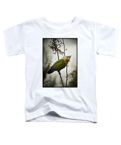 Lovebird  Toddler T-Shirt by Saija  Lehtonen