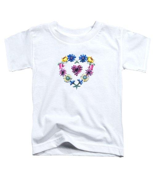 Lovely Flowers Toddler T-Shirt