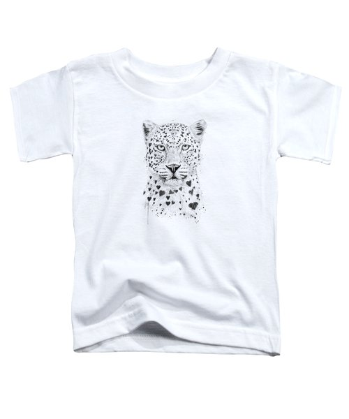 Lovely Leopard Toddler T-Shirt