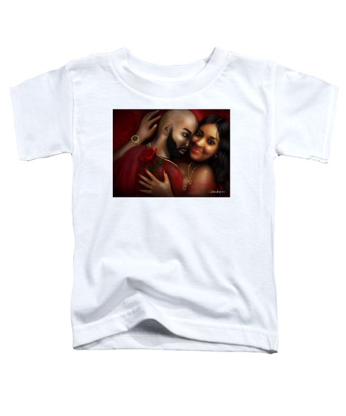 Lovers Portrait Toddler T-Shirt