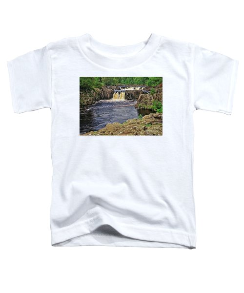 Low Force Waterfall, Teesdale, North Pennines Toddler T-Shirt