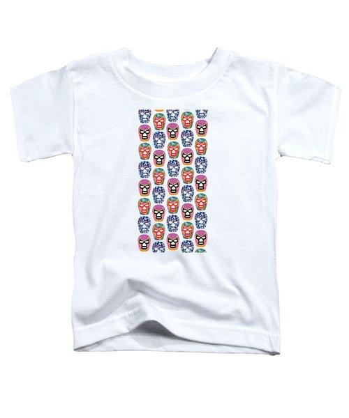 Lucha Libre Masks Toddler T-Shirt