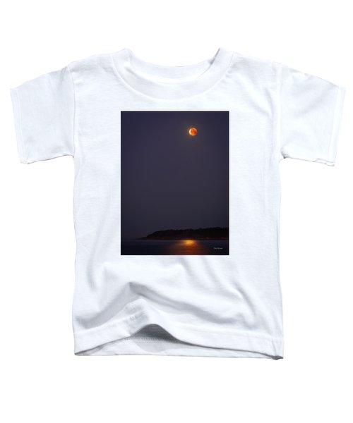 Lunar Eclipse - January 2018 Toddler T-Shirt