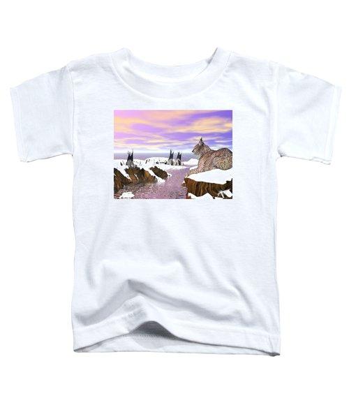Lynx Watcher Render Toddler T-Shirt