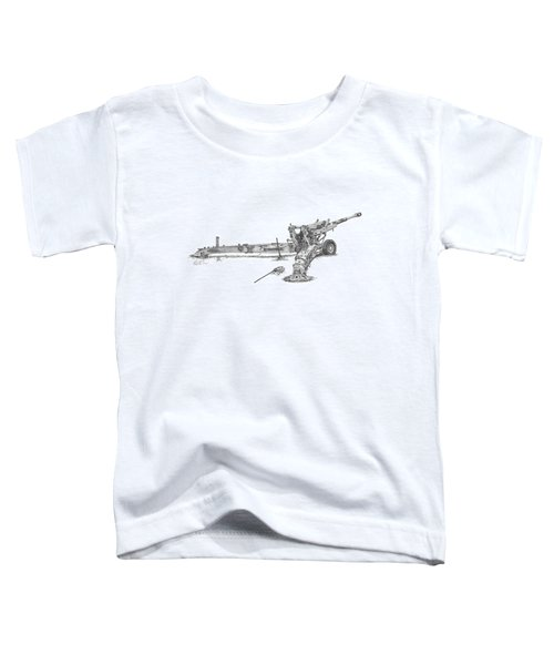 M198 Howitzer - Standard Size Prints Toddler T-Shirt