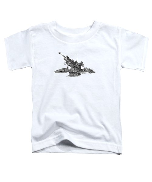 M777a1 Howitzer Toddler T-Shirt