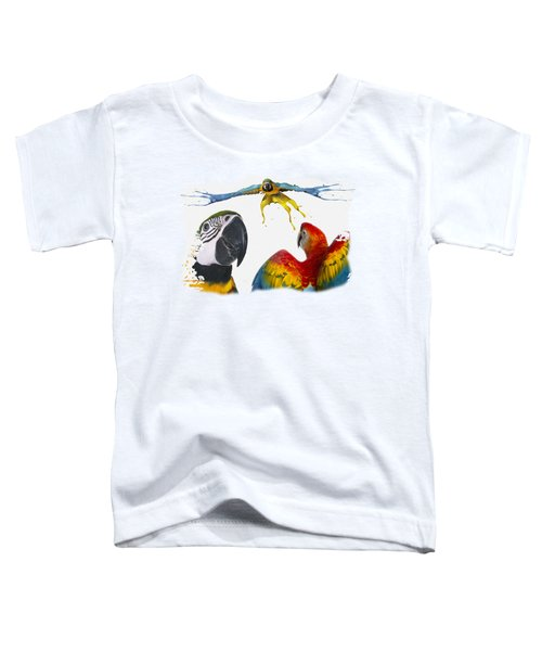 Macaws No 01 Toddler T-Shirt